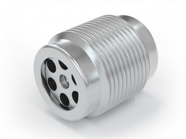 "Einschraubventil Edelstahl - AG G1/4"" / AG G 1/4"" - max. 250 bar - DN 6 mm"