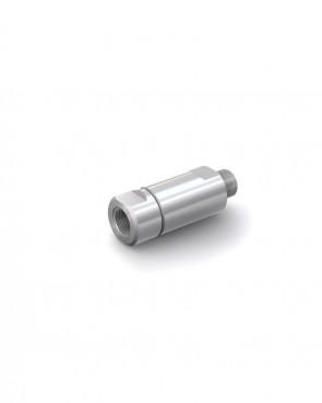 """Rückschlagventil Edelstahl - AG G 1/2"""" / IG G 1/2"""" - max. 250 bar - DN 14 mm"""