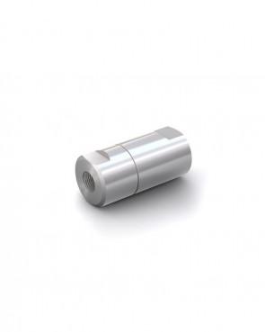 """Rückschlagventil Edelstahl - IG G 1/8"""" / IG G 1/8"""" - max. 400 bar - DN 6 mm"""