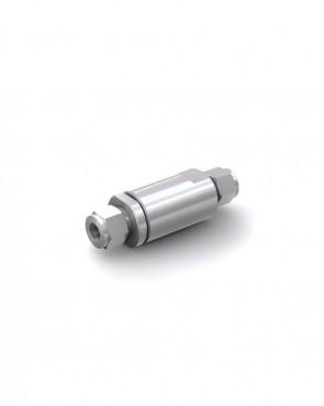 Rückschlagventil Edelstahl - Klemmring Rohr Ø 12 mm / Klemmring Rohr Ø 12 mm - max. 350 bar - DN 10 mm