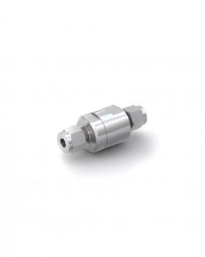Rückschlagventil Edelstahl - Klemmring Rohr Ø 8 mm / Klemmring Rohr Ø 8 mm - max. 350 bar - DN 6 mm