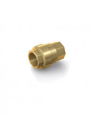 "Rückschlagventil Messing - IG G 1/2"" / IG G 1/2"" - max. 40 bar - DN 15 mm"