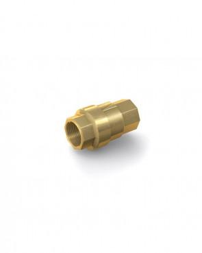 "Rückschlagventil Messing - IG G 3/8"" / IG G 3/8"" - max. 40 bar - DN 10 mm"