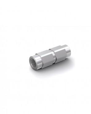 """Rückschlagventil Stahl verzinkt - IG G 1/4"""" / IG G 1/4"""" - max. 300 bar - DN 6 mm"""
